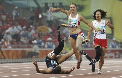 para-olympics fall