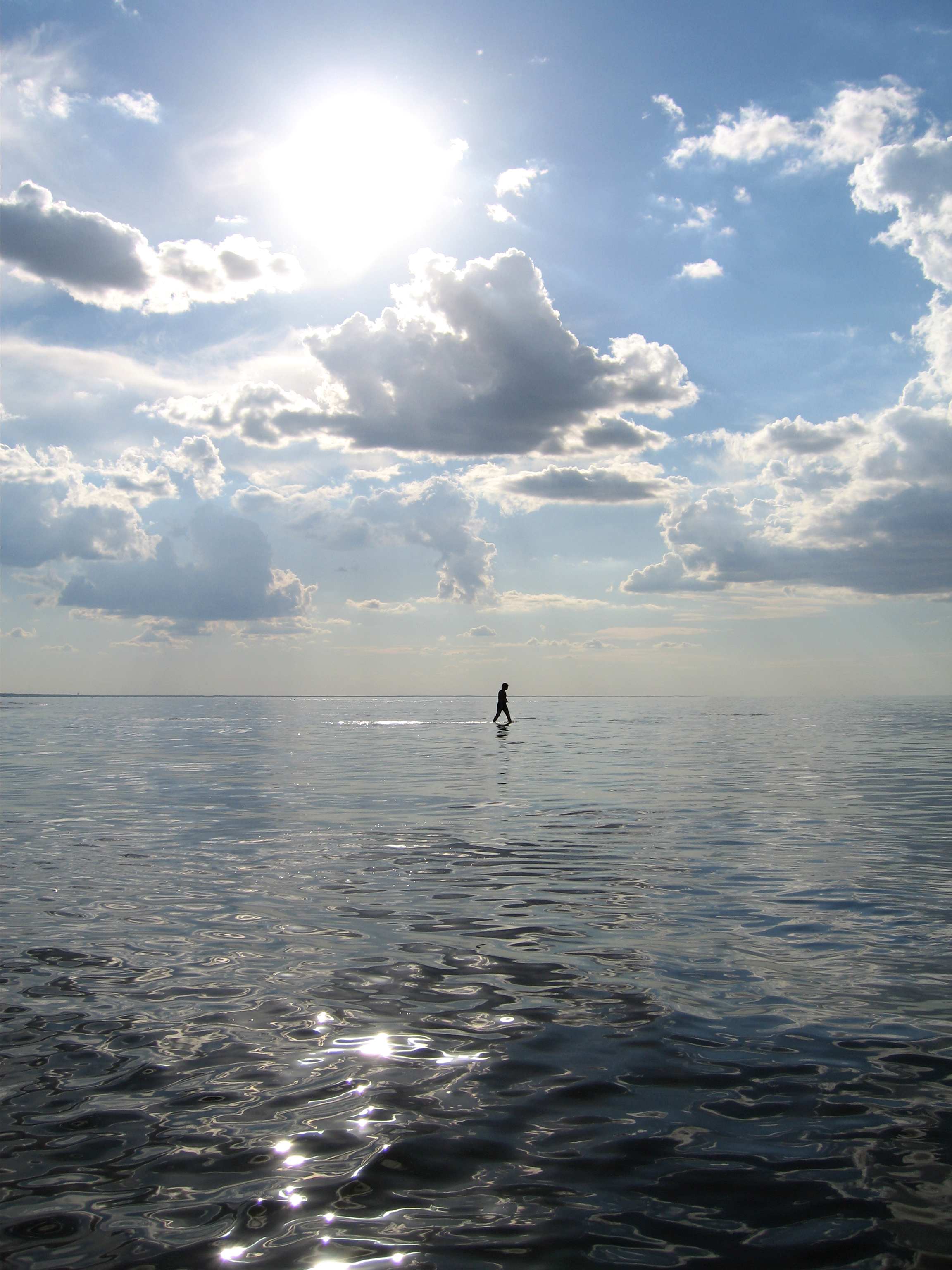 walking on water | Reflections in The WORD