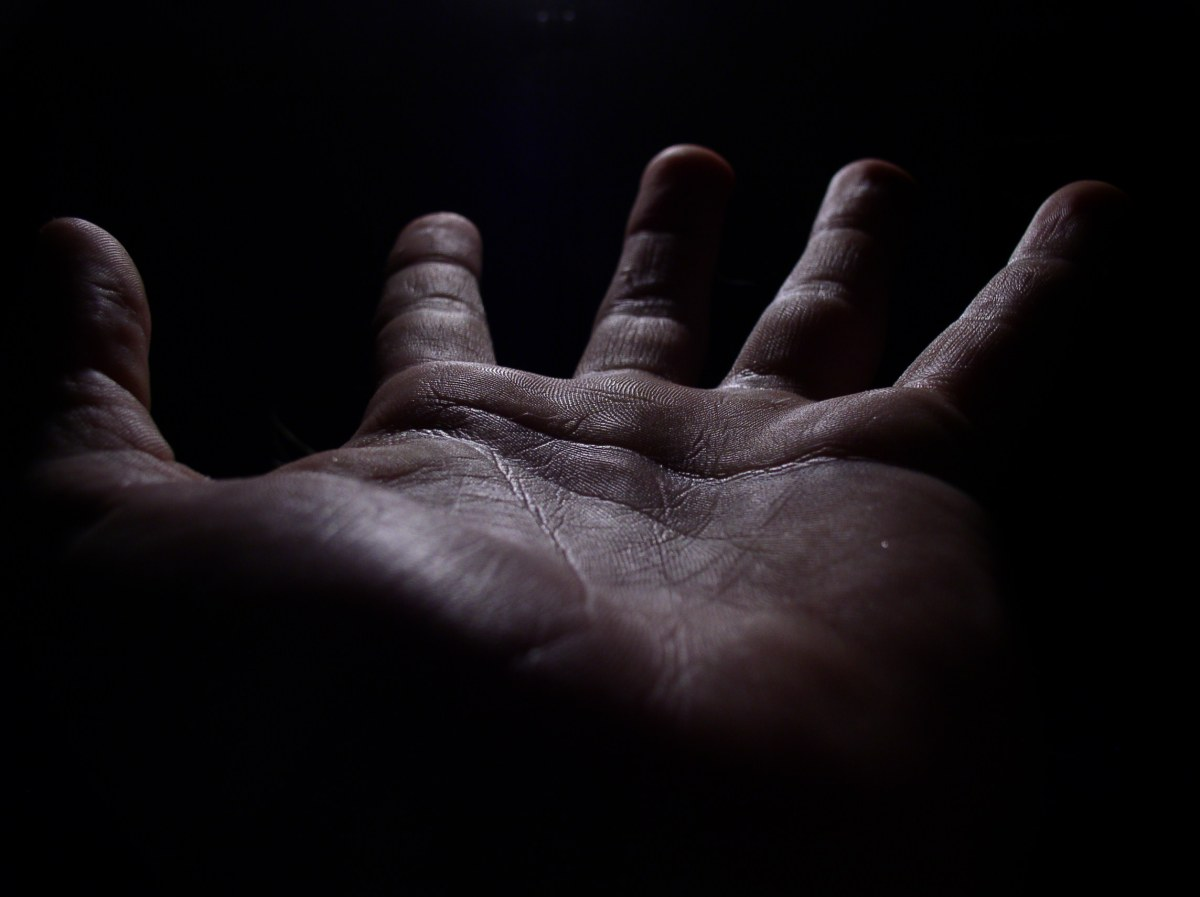 Outstretched hand-2