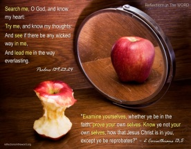 2 Corinthians 13:5 & Psalms 139:23-24