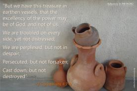 2 Corinthians 4:7-9