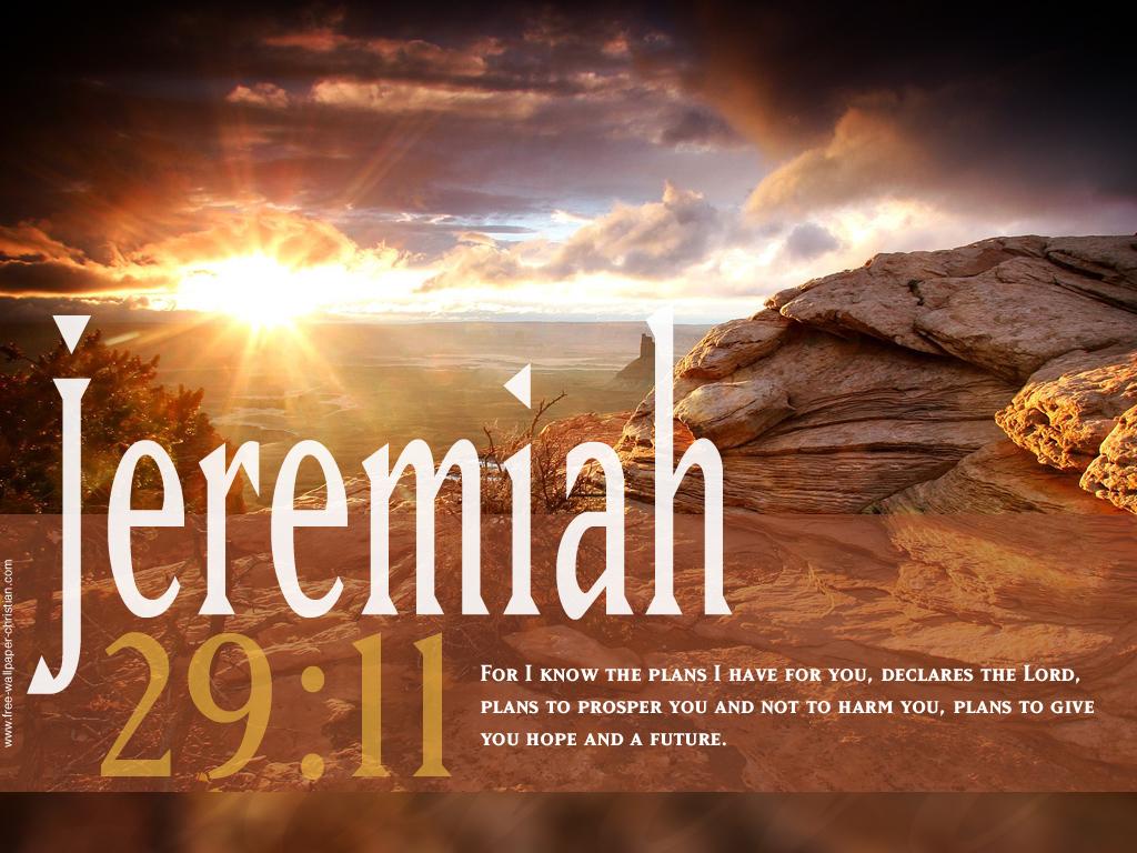 Desktop Bible Verse Wallpaper Jeremiah 29 11