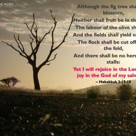 Habakkuk 3:17-18