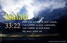 Isaiah 33:22