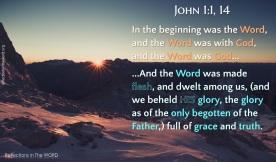 John 1:1,14