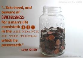 Luke 12:15b