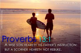 Proverbs 13:1