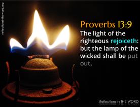Proverbs 13:9