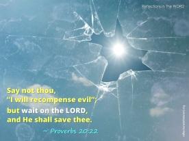 Proverbs 20:22