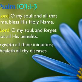 Psalm 103:1-3