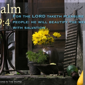 Psalm 149:4