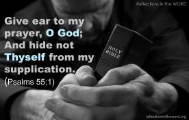 Psalm 55:1