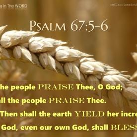Psalm 67:5-6