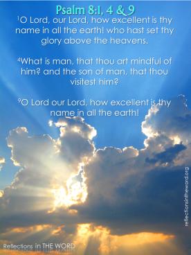 Psalm 8:1,4,9