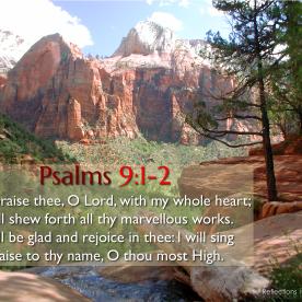 Psalm 9:1-2