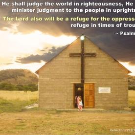 Psalm 9:8-9