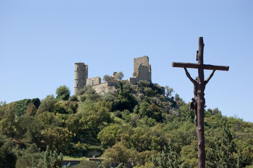 le château et le calvaire