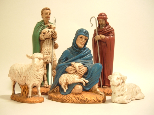 NATIVITY + SHEPHERDS