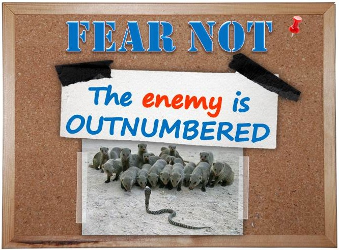 enemy outnumbered