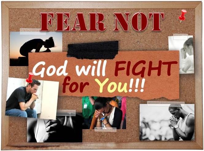 God will fight 4 u
