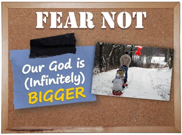 Our GOD is (infinitely) BIGGER