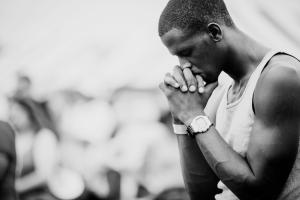 man praying-2