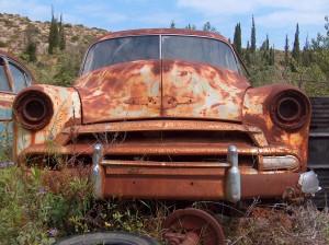 abandoned car-2