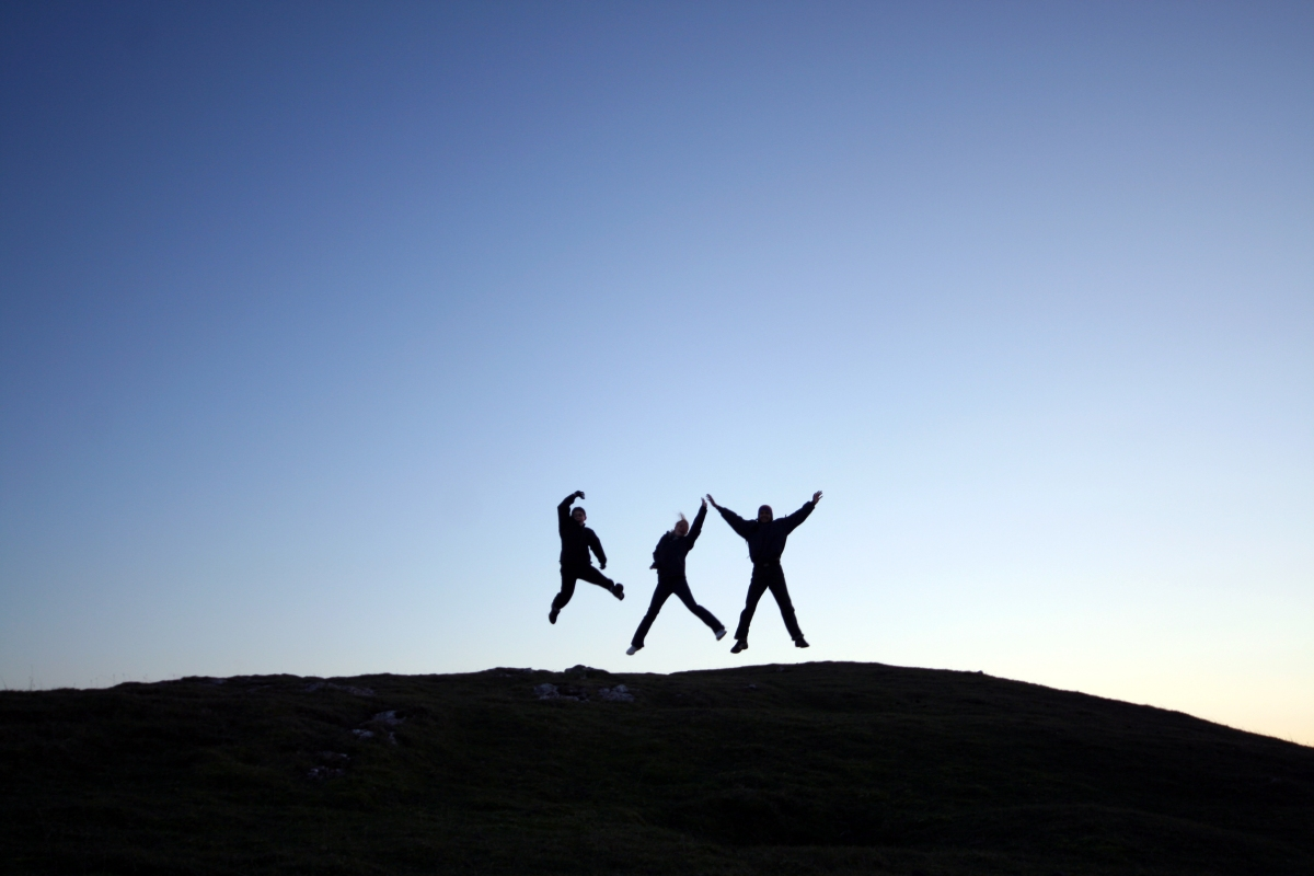 Jumping for joy-1