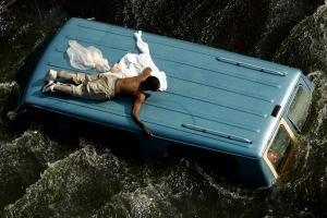flood roof hurricane-katrina