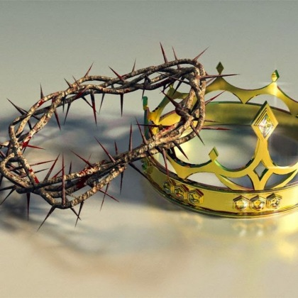 crown and crown of thorns