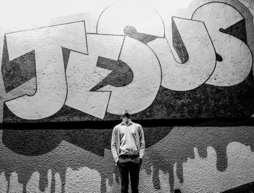 Jesus written in Graffiti style